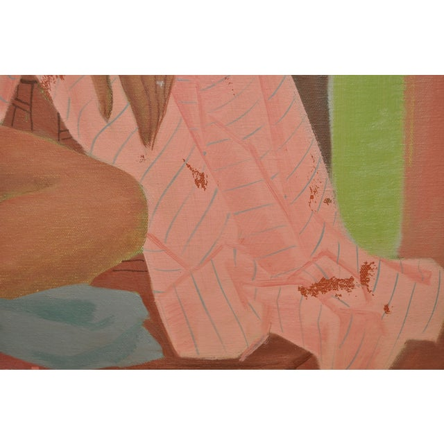 Vintage Figurative Nude Oil Painting C.1940's - Image 5 of 6