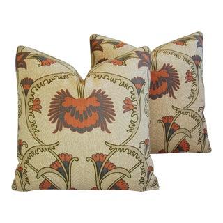 Designer Home Couture Contessa Linen Pillows - A Pair