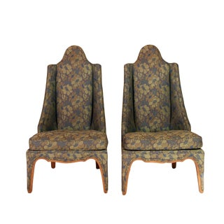 Asian Accent Chair - A Pair