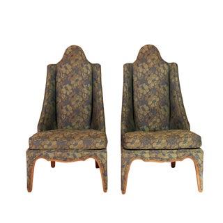 Asian Accent Chair - A Pair