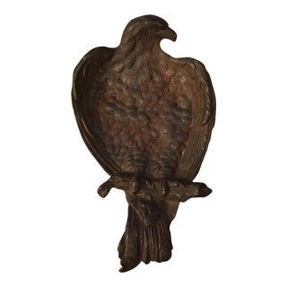 Antique Cast Iron Patriotic Eagle Tray