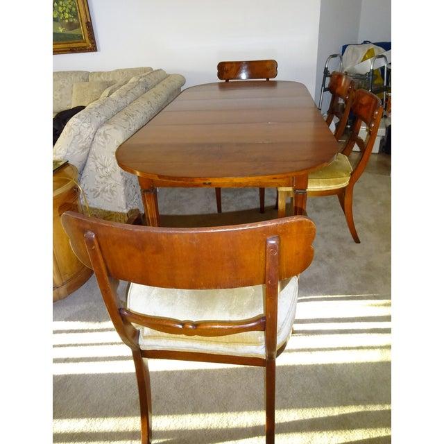 Image of John Widdicomb Drop-Leaf Dining Table