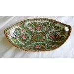 Image of Porcelain Famille Rose Oval Serving Dish