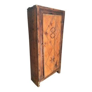 Antique Warm Wood Armoire