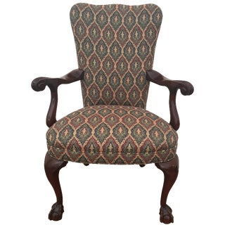 Colonial Reproduction Ball Claw Style Chair