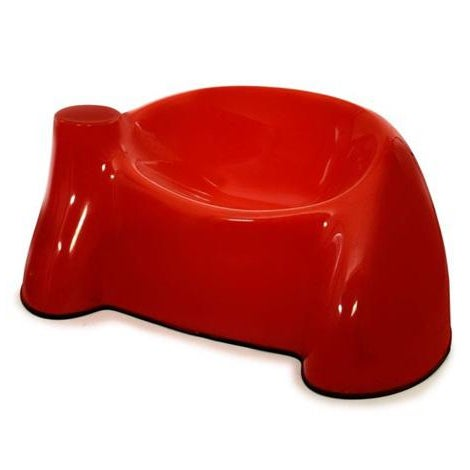 1969 Wendell Castle Molar Collection Red Lounge Chairs - a Pair - Image 2 of 4