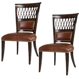Sarried Ltd Umbria Finish Exeter Dining Chairs - A Pair