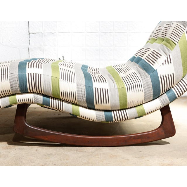 "Adrian Pearsall ""Wave"" Chaise Rocker - Image 9 of 11"