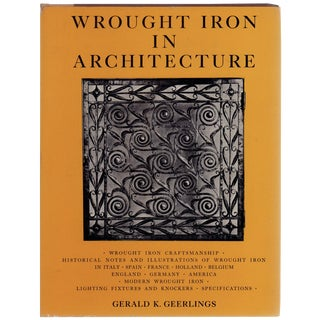 "1957 ""Wrought Iron in Architecture"""