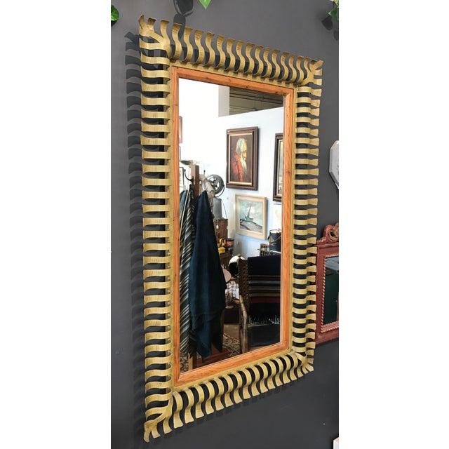 1960s Vintage Large Mirror - Image 4 of 5