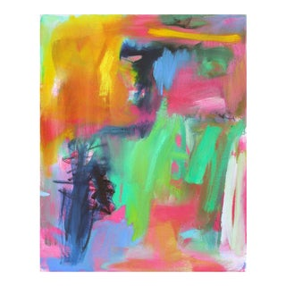 """Abstract Oil Painting by Trixie Pitts """"Forever Florida"""""""