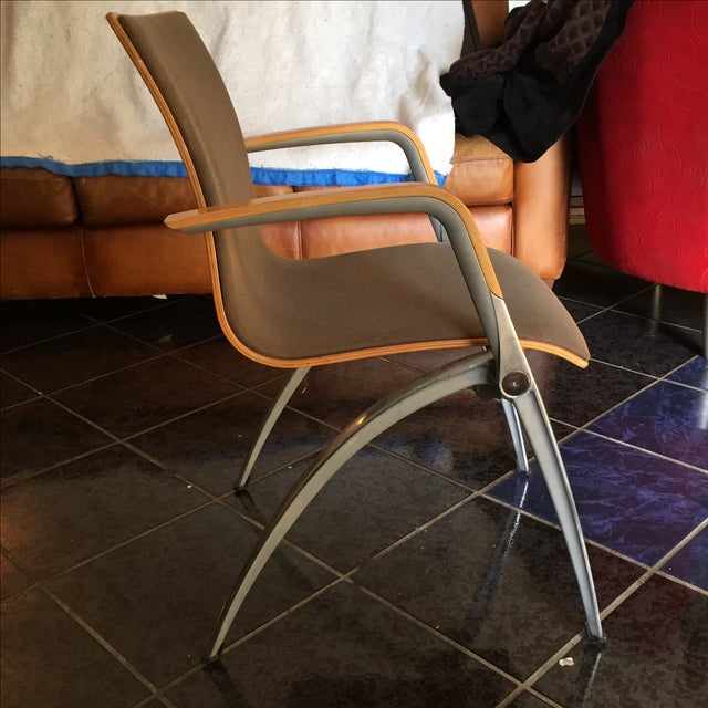 Davis Furniture Industries Brown Chairs - A Pair - Image 8 of 11