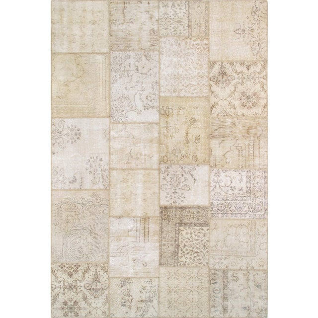"""Pasargad Patchwork Collection Rug - 6' 0"""" X 9' 1"""" - Image 1 of 3"""