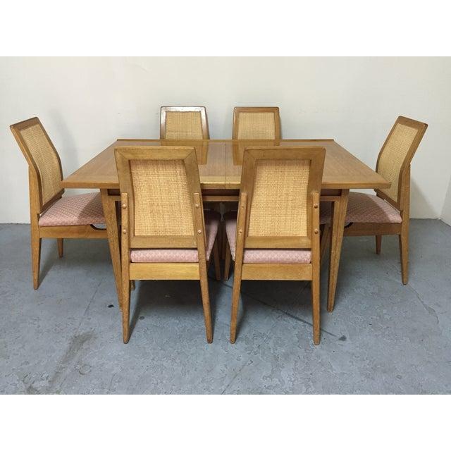 mid century modern dining room set chairish