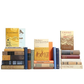 Latin America History Book Collection, S/25