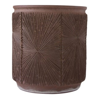 David Cressey/Robert Maxwell Earthgender Cylindrical Planter