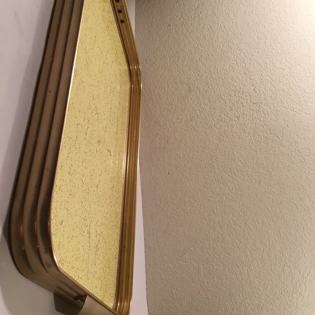 Image of Retro Gold Speckle Formica Serving Tray