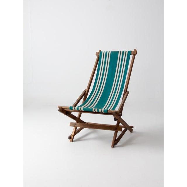 Vintage American Deck Chair - Image 4 of 9