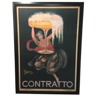 Vintage Contratto Canvas Art