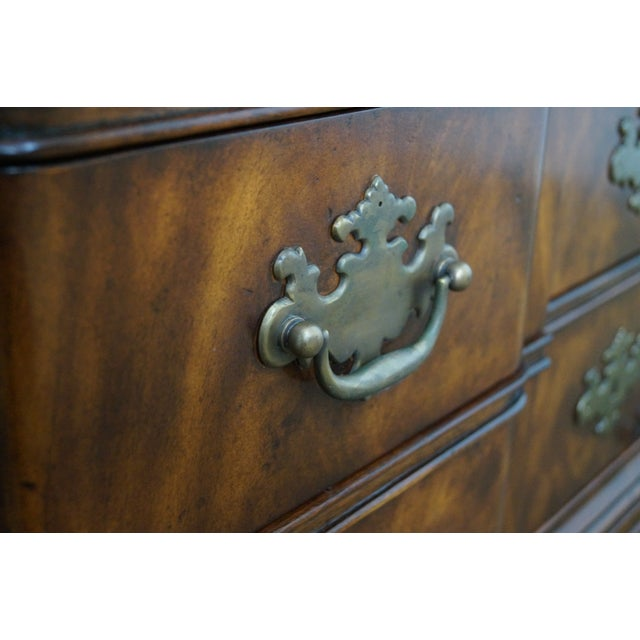 Theodore Alexander Mahogany Chippendale Highboy - Image 6 of 10
