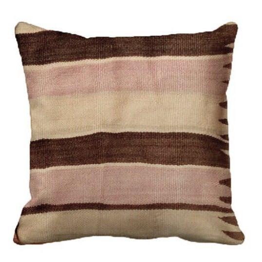 Berber Moroccan Handwoven Pillow - Image 2 of 2