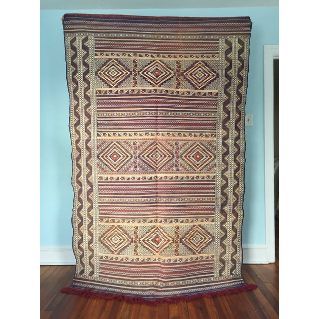 Zemmour Moroccan Wool Rug - 5′1″ × 7′5″ - Image 3 of 4