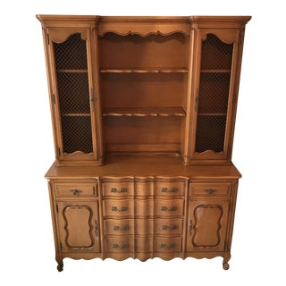 French Country Cabinet Hutch