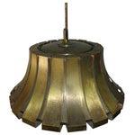 Image of Elio Martinelli Italian Brass Pendant