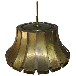 Elio Martinelli Italian Brass Pendant