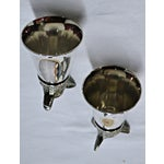 Image of Wolf Head Stirrup Cups - A Pair