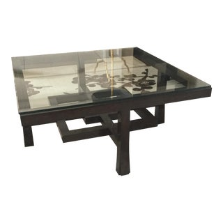 Orlando Diaz-Azcuy for McGuire Furniture Ventana Coffee Table