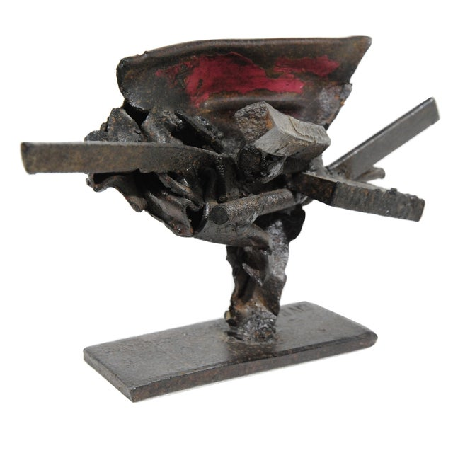 French Metal Sculpture by Jean-Pierre Rives - Image 1 of 5