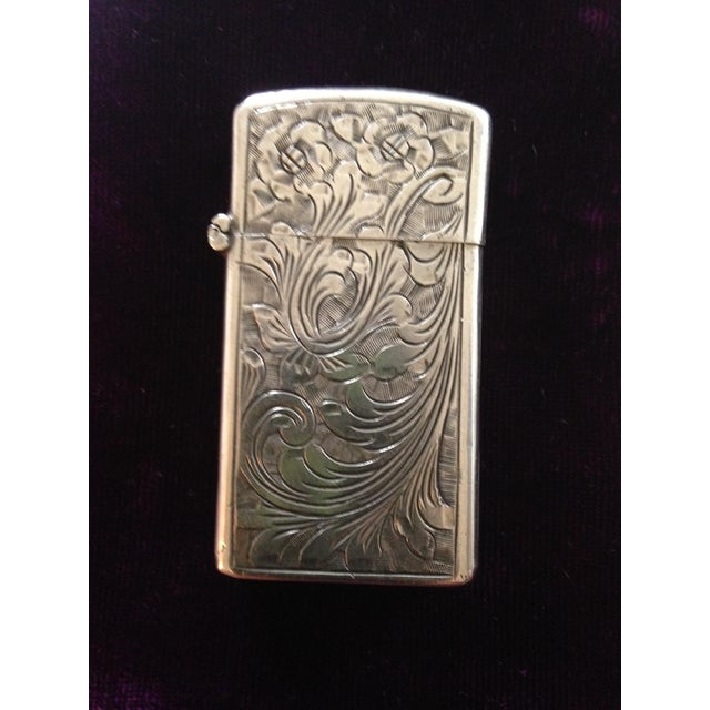 Sterling Silver Zippo Lighter - Image 3 of 3