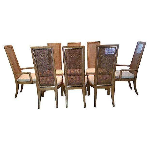 American of Martinsville Dining Chairs - Set of 8 - Image 4 of 7