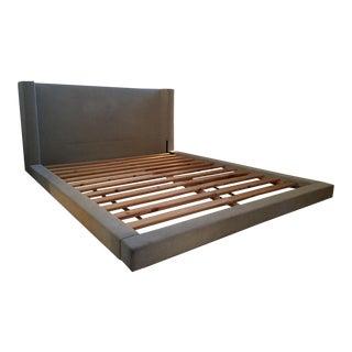 West Elm Modern Upholstered Queen Bed