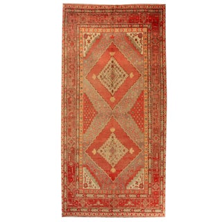 Antique Central Asian Samarkand Rug