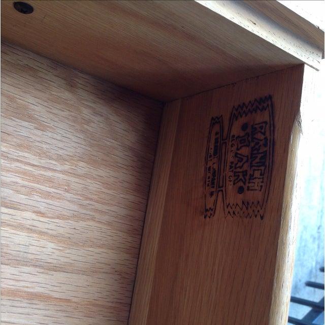 Image of Brandt Ranch 4-Drawer Oak Dresser