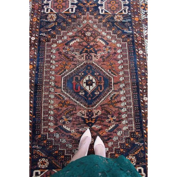 """Vintage Persian Baluch Rug - 5'5"""" X 8'7"""""""
