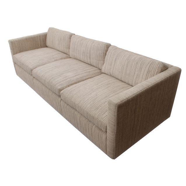 Knoll Long & Low Sofa w/ Original Upholstery - Image 1 of 10
