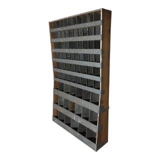Metal Bolt Bin Cabinet