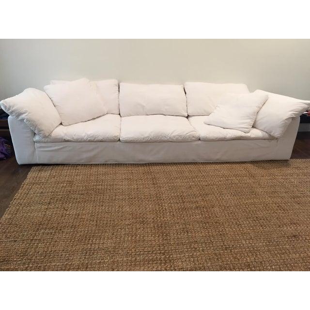 restoration hardware indoor outdoor sofa chairish With restoration hardware outdoor sectional sofa