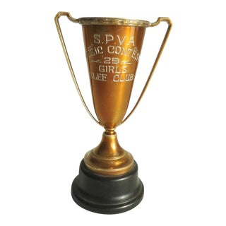 Art Deco Glee Club Trophy