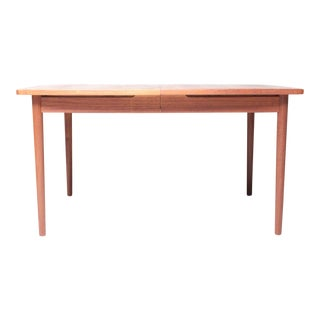Teak Danish Modern Dining Table by Randers Møbelfabrik