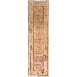 "Antique Khotan Runner- 2'8"" x 9'5"""