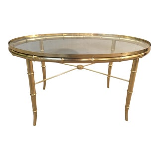 Italian Faux Bamboo Table