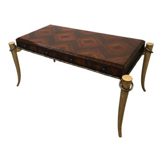 Maitland-Smith Gilt Tusk Desk
