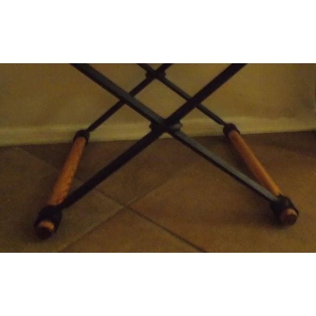 Cleo Baldon Wrought Iron Stool - Image 4 of 4