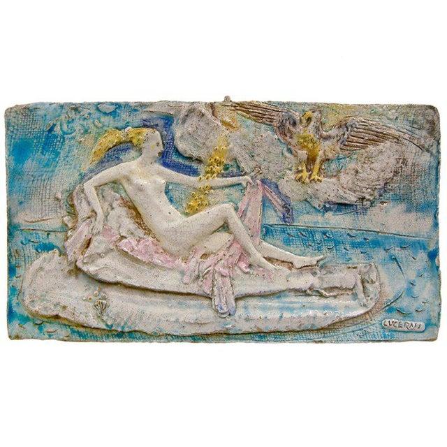Ugo Lucerni Majolica Wall Relief - Image 8 of 8
