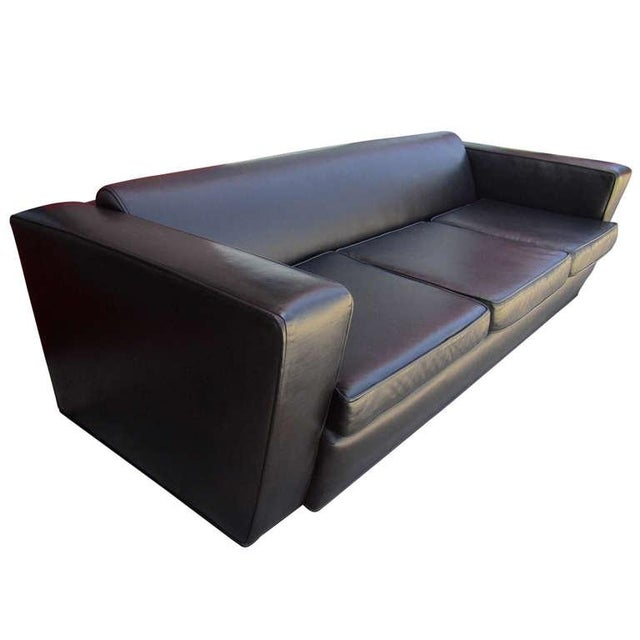 Aerodynamic Sofa in the Style of Paul Frankl - Image 4 of 6