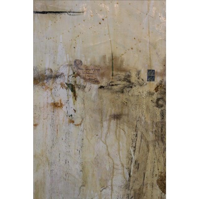 Life After Paris, Mixed Media Painting - Image 3 of 5